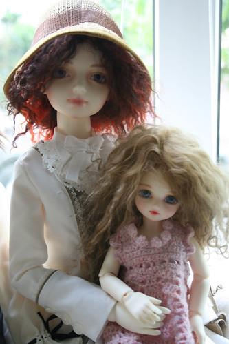 Kaethe and Erianthe