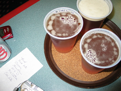Bowling beers