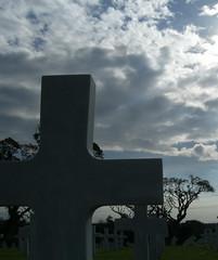 cross (JohnFrytz) Tags: cemetery cross american gloom