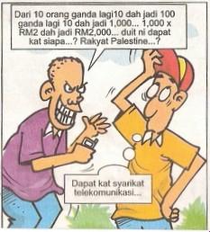gambar kartun lawak