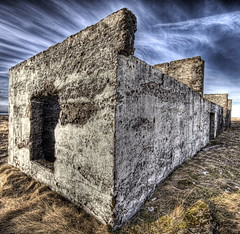 Cube (Stuck in Customs) Tags: sky house abandoned modern clouds dead photography death iceland nikon photographer farm modernart ruin haunted artists cube hdr highquality stuckincustoms treyratcliff