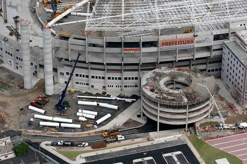 Estadio Olimpico Joao Havelange, o Engenhao