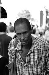 Portrait of a Cuban Man (sbrrmk) Tags: life vacation people blackandwhite bw beach portraits havana cuba human santaclara caribbean cuban kuba portre hayat insan urbanlife kba yasam siyahvebeyaz dnyadaninsanmanzaralar dunyamdaninsanmanzaralari