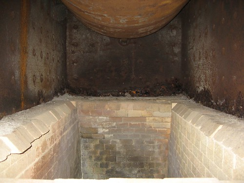 the pit inside the boiler