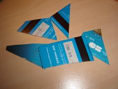 Carte bleue punie