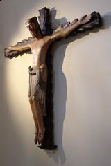 Cristo gallego - Galician christ - XI (Paco CT) Tags: espaa church spain christ iglesia galicia crucifix cristo romanesque 2007 romanico crucifijo orense sacredart pacoct artsacro