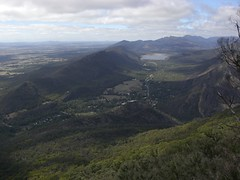 Halls Gap From Boronia Lookout