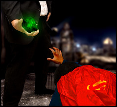 Day 154: Fallen Hero (arkworld) Tags: selfportrait photoshop photoshopped superman hero superhero parody tribute spoof 365 lex kryptonite photoshopfun lexluthor 365days moodgood