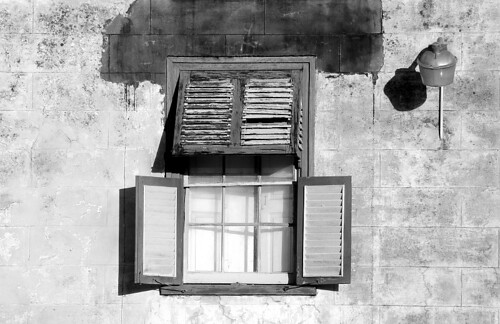 Old School Meals Building Window