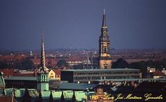 Copenhague from the round tower (Lucio José Martínez González) Tags: travel viaje geotagged denmark dinamarca kobenhavn copenhague labolsa luciojosémartínezgonzález luciojosemartinezgonzalez geo:lat=55681335 geo:lon=12575601