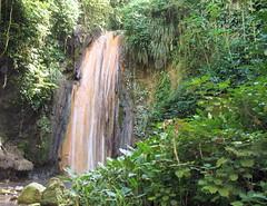 St Lucia Soufriere gardens diamond falls