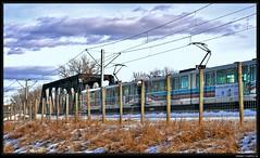 C Train (justpedalhard) Tags: snow canada calgary ef50mmf14 alberta hdr ctrain winterlandscape primelens artizenhdr canonrebelxti400d