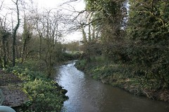 The River Arrow in Redditch (Tudor Barlow) Tags: england rivers worcestershire redditch arrowvalleypark tamron1750 riverarrow ipsley