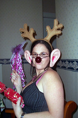 (sapixie) Tags: christmas party reindeer nose funny good wand joke horns dressup ears humour pixie christmasparty cracker sapixie