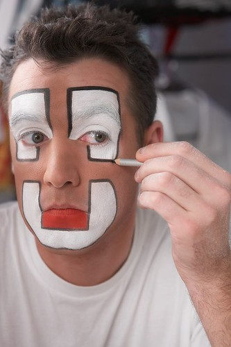 clown makeup designs. Clown MakeUp by Rui M Leal