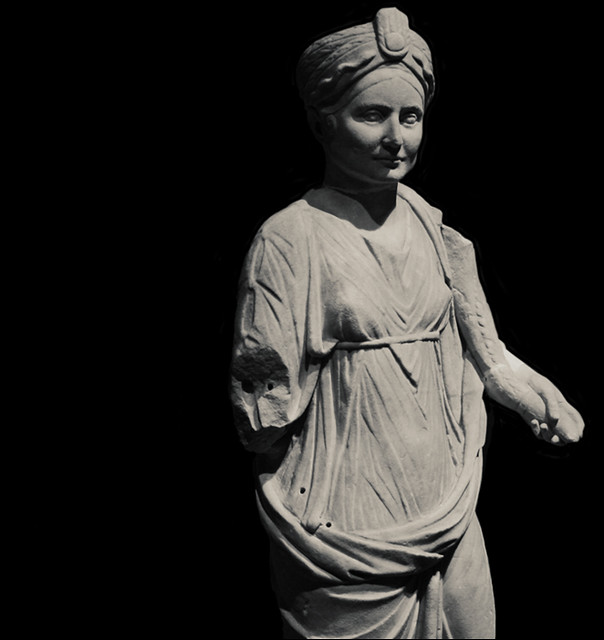 Isis-Fortuna Sculpture, Imperial Rome Exhibit