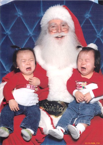 2006: Wahhhhhhh, we don't love Santa (an instant classic)