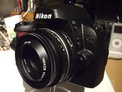 Nikkor 45mm f/2.8 P - Pancake Lens (digitalbear) Tags: japan tokyo nikon pancake 45mm nikkorlens d40