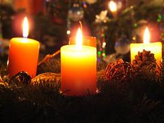 Adventskranz - Gefahr zur Weihnachtszeit