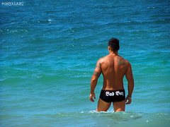 Bad Boy (Marco Nunes) Tags: floripa sea summer sun man hot male men sol praia beach island mar florianpolis uomo vero santacatarina homem ilha quente calor homens uomini ilhadamagia