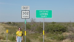 - Loving County Texas - (vanherdehaage) Tags: loving texas tx carol 302 zip79754 countycollecting