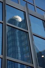 DSC_0312 - I'm melting! (Anyhoo) Tags: blue brussels distortion reflection window glass metal architecture facade belgium belgique belgie eu bruxelles oddity brussel ep folly strut faade europeanparliament curtainwall mirrorglass anyhoo parlementeuropen europarl europeesparlement architecturaloddity ruewiertz wiertzstraat photobyanyhoo