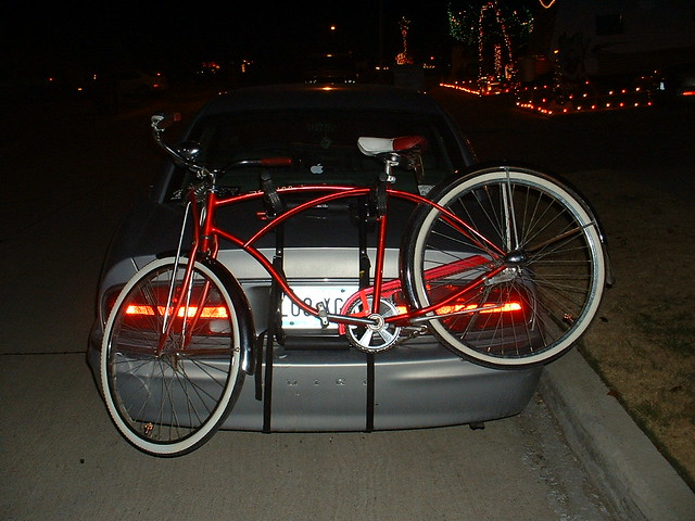 park bike bicycle buick rack schwinn avenue typhoon