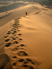 The swallowed man by the Golden Sand (Ehsan Khakbaz) Tags: sun lawrence desert iran  ehsan  abigfave khakbaz  swallowedman goldendesert irandesert
