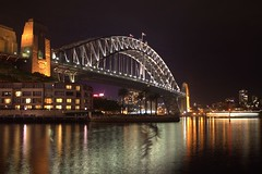 lumina (stefan turney) Tags: longexposure nightshot australia sydneyharbour sydneyharbourbridge