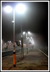 Foggy Night (Eric Hands) Tags: london station fog night canon railway g6 croydon