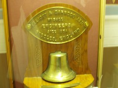 Bell from HMY Iolaire in Museum nan Eilean