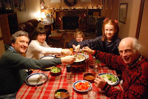 Crab Fondue -- a Christmas tradition