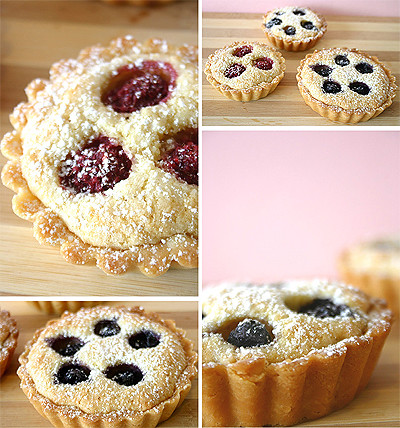 Almond Berry Tarts