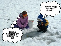 ice fishing kids