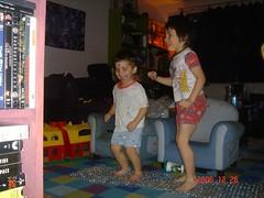 Bubble wrap dancing (PixieRosa) Tags: max seth