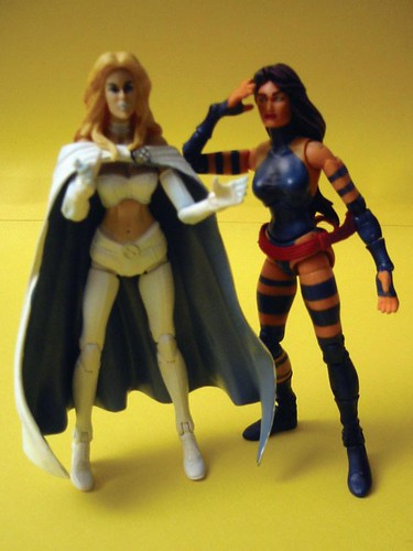 Emma Frost and Psylocke