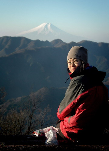 Fuji From Sasa One (ridge)