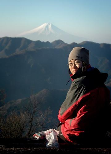 Fuji From Sasa One (ridge)