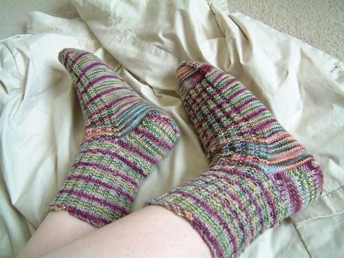 Garter Rib Sock- STR Scottish Highlands