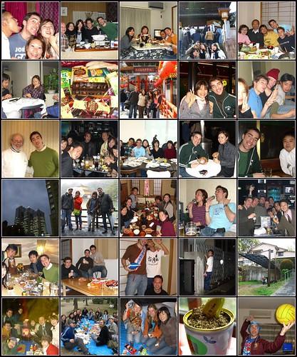 New Year in Kansai and Shikoku, Tokyo, Olivia in Japan, Yokkaichi, Ijiri Farewell, Hanami and others.