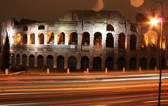 Colosseo, nel traffico