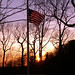 Flag Lowered In Memory of President Gerald Ford