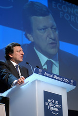 Jose Manuel Barroso by World Economic Forum