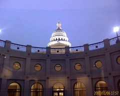 Capitol Dome from Center of Extension