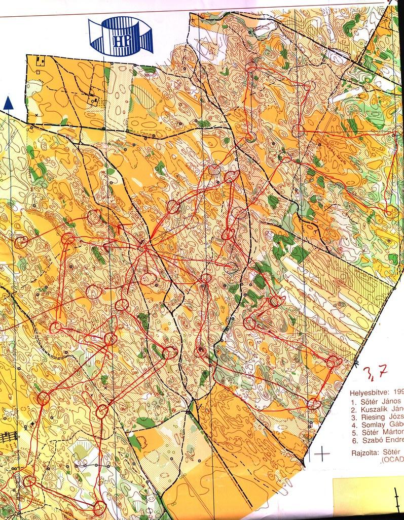Tázlár (Ládahomok) - térkép
