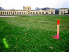 documenta 12 - Grundriß abgesteckt