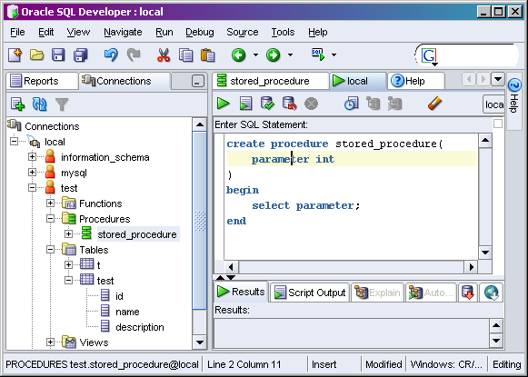 sql-developer-parameters
