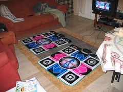 Alfombrillas de dance dance revolution