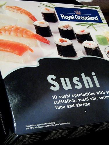 sushi in scatola surgeato
