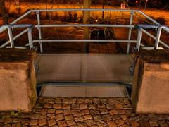rail (cide) Tags: orange colour tree yellow switzerland nightshot rail aarau symmetric aargau hdr wwwmichaelrichnerch